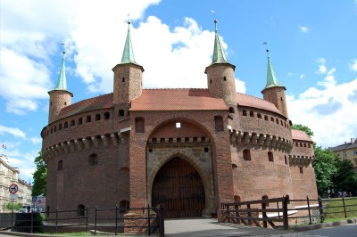 Zabytki i atrakcje Krakowa: Barbakan