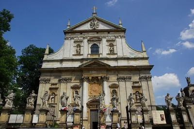 Zabytki i atrakcje Krakowa: Kościół św. Piotra i Pawła