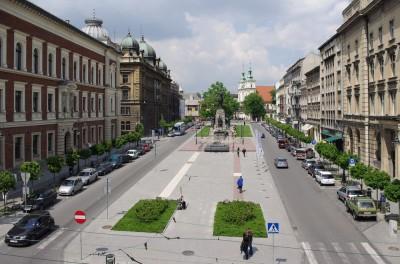 Zabytki i atrakcje Krakowa: plac Matejki