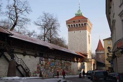 Zabytki i atrakcje Krakowa: Brama Floriańska