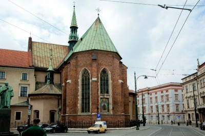 Zabytki i atrakcje Krakowa: Kościół Franciszkański
