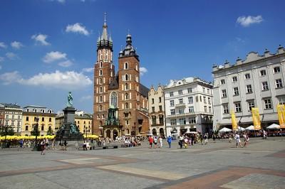 Zabytki i atrakcje Krakowa: Stare Miasto